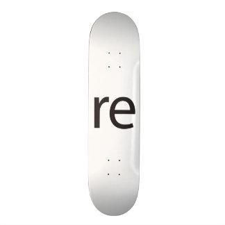 re.ai custom skateboard
