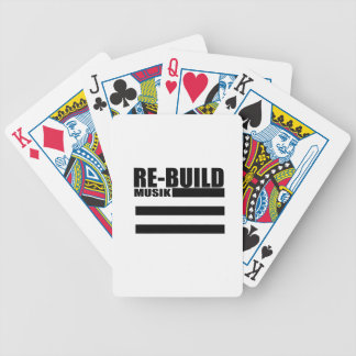 Re-Build Sports Bicycle Playing Cards