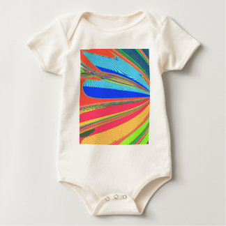 Re-Created Archangel Wing by Robert S. Lee Baby Bodysuit