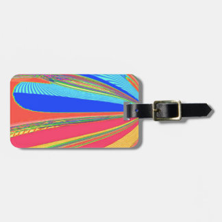 Re-Created Archangel Wing by Robert S. Lee Luggage Tag