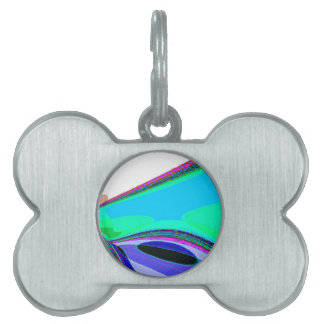 Re-Created Archangel Wing by Robert S. Lee Pet ID Tag