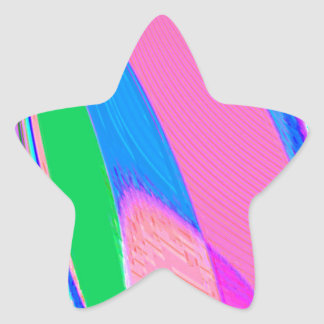 Re-Created Archangel Wing by Robert S. Lee Star Sticker