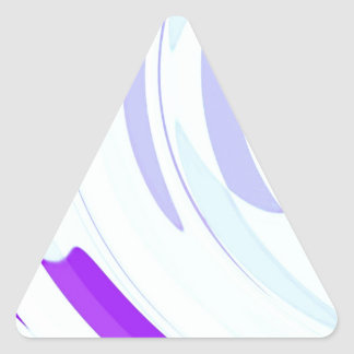 Re-Created Archangel Wing by Robert S. Lee Triangle Sticker