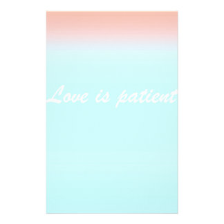 Re-Created Color Field with LOVE by Robert S. Lee Stationery Design