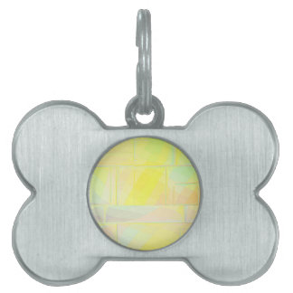 Re-Created Elements by Robert S. Lee Pet ID Tag
