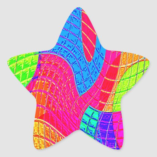 Re-Created Function f(x) Star Stickers