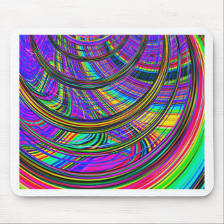 Re-Created Hurricane by Robert S. Lee Mouse Pad