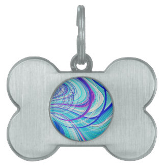Re-Created Hurricane by Robert S. Lee Pet ID Tag