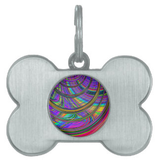Re-Created Hurricane by Robert S. Lee Pet Tag