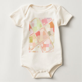 Re-Created Mirrored SQ by Robert S. Lee Baby Bodysuit