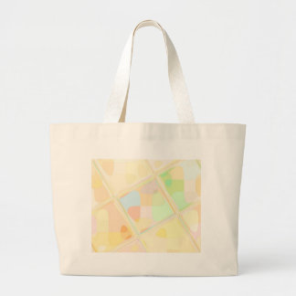 Re-Created Mirrored SQ by Robert S. Lee Large Tote Bag