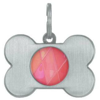 Re-Created Mirrored SQ by Robert S. Lee Pet ID Tag