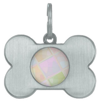 Re-Created Mirrored SQ by Robert S. Lee Pet ID Tags