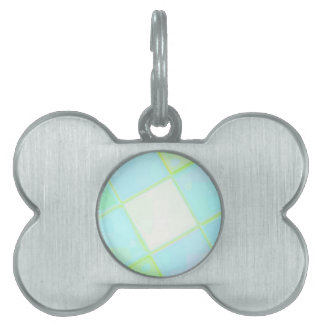 Re-Created Mirrored SQ by Robert S. Lee Pet Name Tag