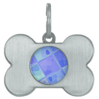 Re-Created Mirrored SQ by Robert S. Lee Pet Tag