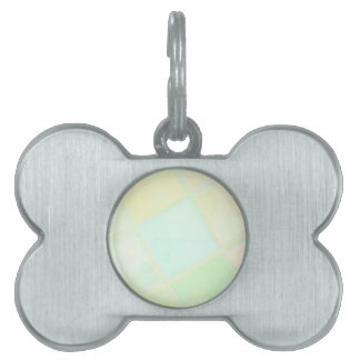 Re-Created Mirrored SQ by Robert S. Lee Pet Tags