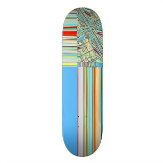 Re-Created Southern Cross Custom Skateboard