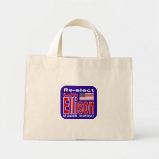 Re-elect Keith Ellison for Congress Minnesota 2012 Mini Tote Bag