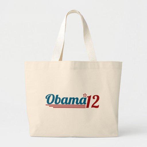 Re-Elect Obama '12 Tote Bag