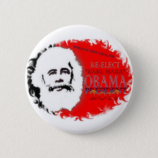 Re-Elect Obama 2 Inch Round Button