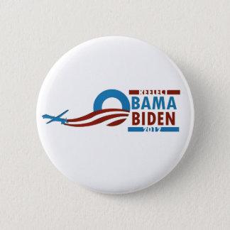 Re-Elect Obama Biden 2012 2 Inch Round Button