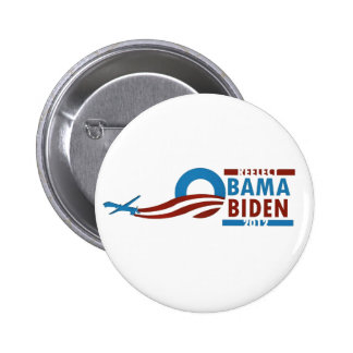 Re-Elect Obama Biden 2012 2 Inch Round Button