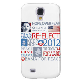 Re-elect Obama Samsung Galaxy S4 Covers