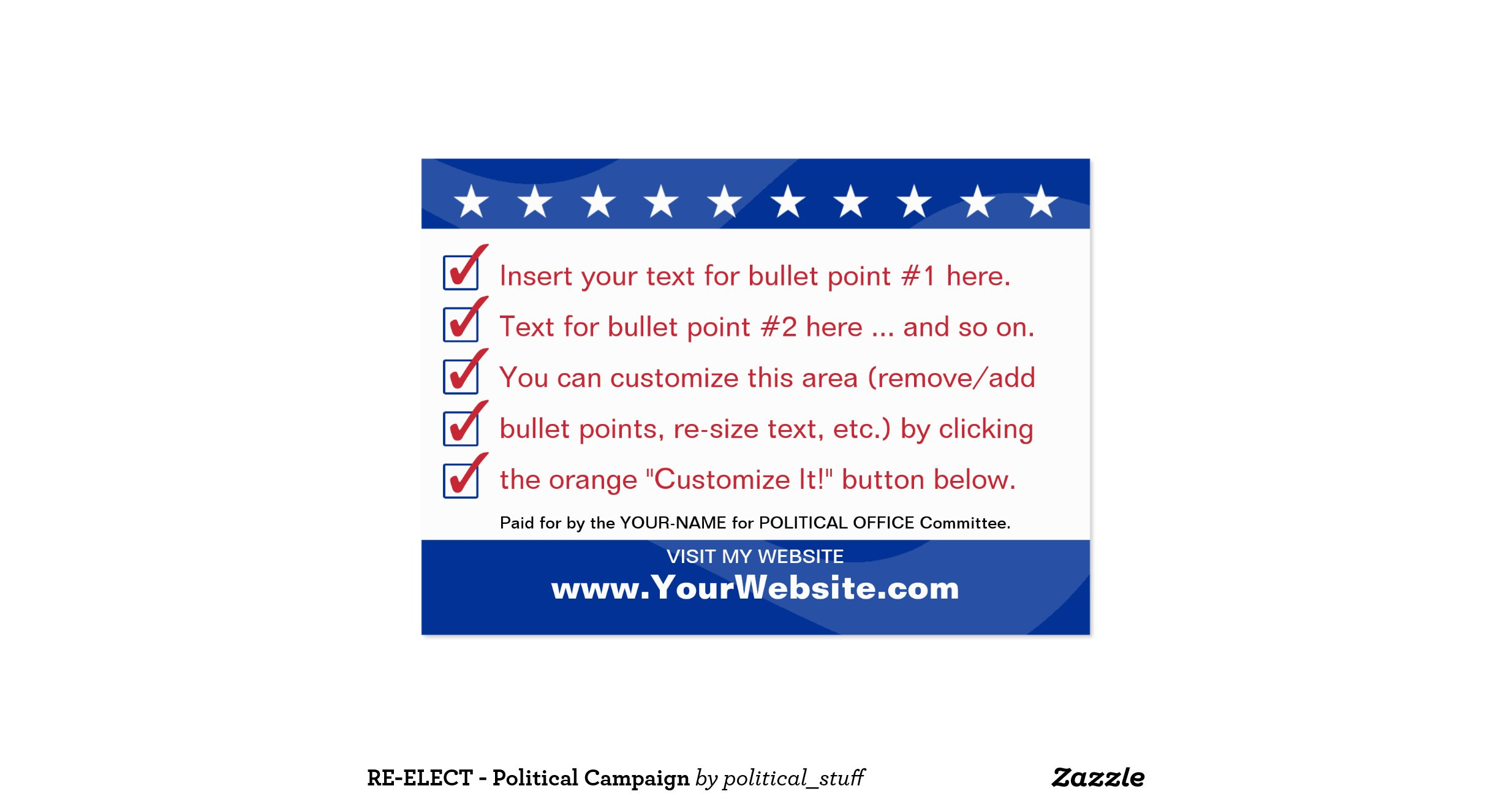 Sign up card template 49 images resume template re elect political campaign pack of chubby business magicingreecefo Images