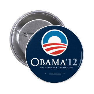 Re-Elect President Barack Obama 2012 2 Inch Round Button