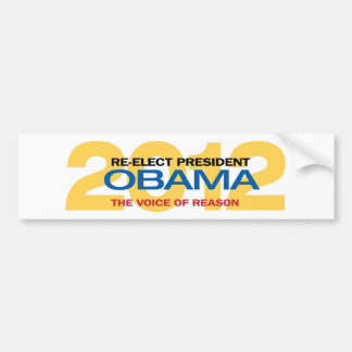 Re-elect President Obama Bumper Sticker