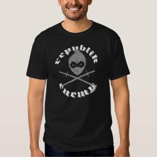 RE Elephant Print Tshirts