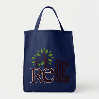 Re Grocery Tote Bag