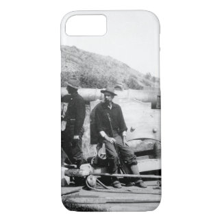 Re-modeled Spanish bronze cannon_War Image iPhone 7 Case