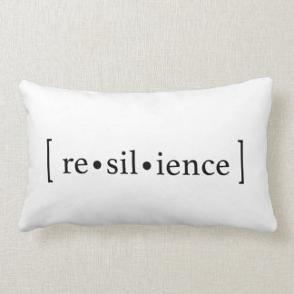 [re•sil•ience] lumbar pillow