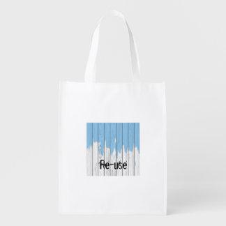 Re-usable bag, your green choice for today! reusable grocery bag