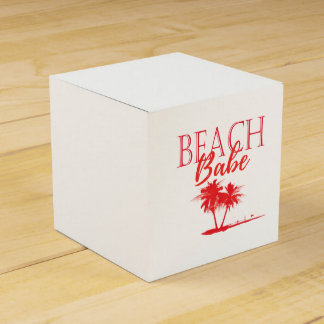Rea Palm Beach Coral Favor Box