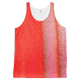 ReAbstract Watercolor All-Over Printed Unisex Tank