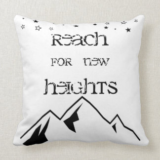 Reach for New Heights Pillow