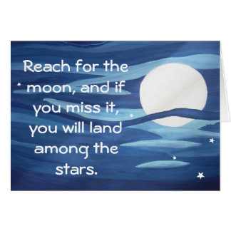 Reach for the Moon! Card