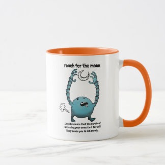 Reach for the moon mug