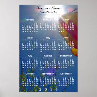 Reach for the Sky 2015 Business Promo Calendar Print