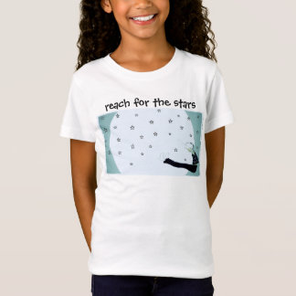 Reach for the Stars and the Moon Inspirational T-Shirt
