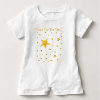Reach For The Stars Baby Romper