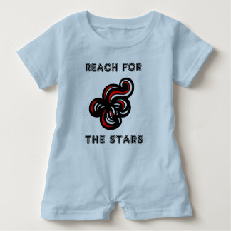 """""""Reach for the Stars"""" Baby Romper"""