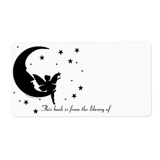 Reach for the Stars Bookplate Shipping Label