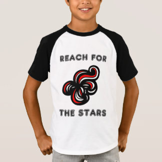 """Reach for the Stars"" Boys' Raglan T-Shirt"