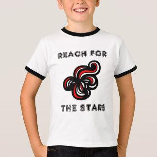 """""""Reach for the Stars"""" Boys Ringer TShirt"""