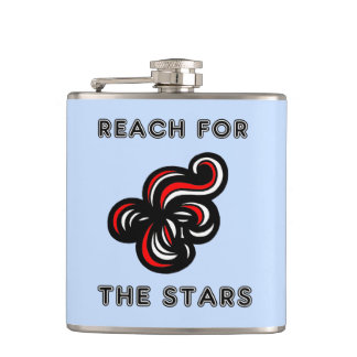 """""""Reach for the Stars"""" Classic Flask"""