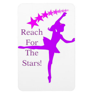 Reach For The Stars Dance Magnet