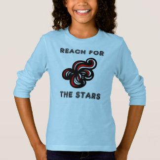 """Reach for the Stars"" Girls' Long Sleeve T-Shirt"